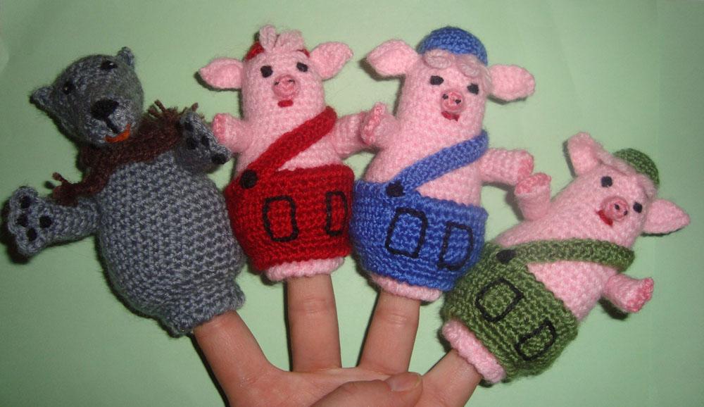 Кукольный театр пальчиковый своими руками крючком